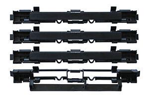 Bootsteile 2 Dach Koffer Zug Zierleiste Abdeckung Passend für Vauxhall Opel Astra H