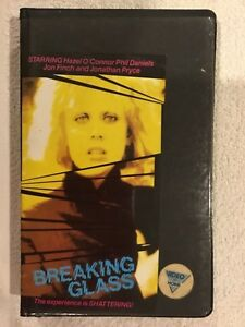 VHS-Video-Tape-Breaking-Glass-Starring-Hazel-O-Connor