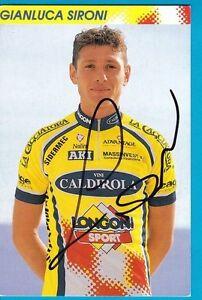 CYCLISME-carte-cycliste-GIANLUCA-SIRONI-equipe-VINI-CALDIROLA-signee