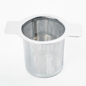 Tea Infuser Stainless Steel Fine Mesh Filter Reusable Strainer Single Wire Mesh Ebay