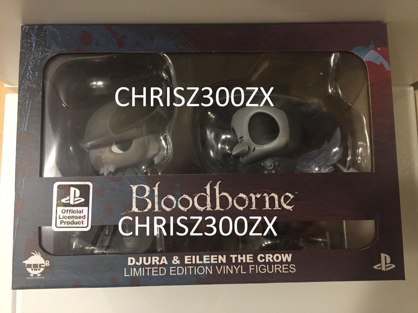 Bloodborne Vinyl Action Figure Figure Figure SET Eileen The Crow + Djura Hunter 5  Playstation b99761