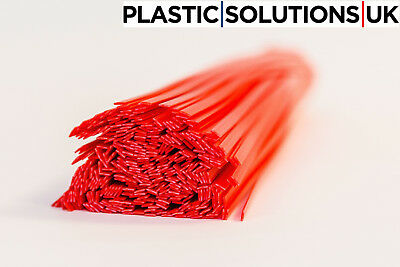 HDPE Plastic welding rods pack of 10 pcs //flat strips// 10mm blue