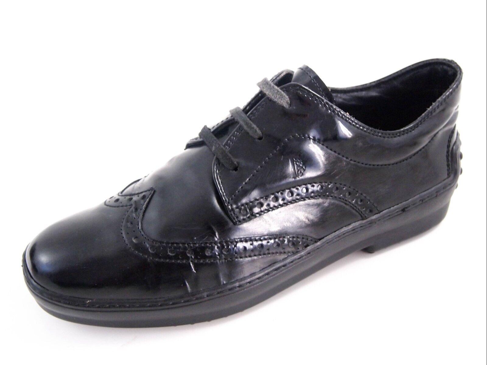 Tod'S Cuero Calado, Charol Negro, Mujer Tamaño del zapato, zapato, zapato, EU 37 nos 7  450  mejor reputación