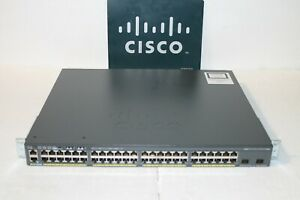 Cisco-2960-X-Series-WS-C2960X-48LPD-L-V06-Fiber-Capable-10G-Uplink-PoE-370-Watt