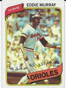 1980-Topps-Baseball-160-EDDIE-MURRAY-Baltimore-Orioles
