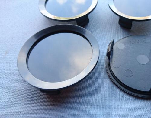 4 Stück Nabenkappen Felgendeckel 74,5 mm  69,0 mm schwarz für Alufelgen AA01 NS