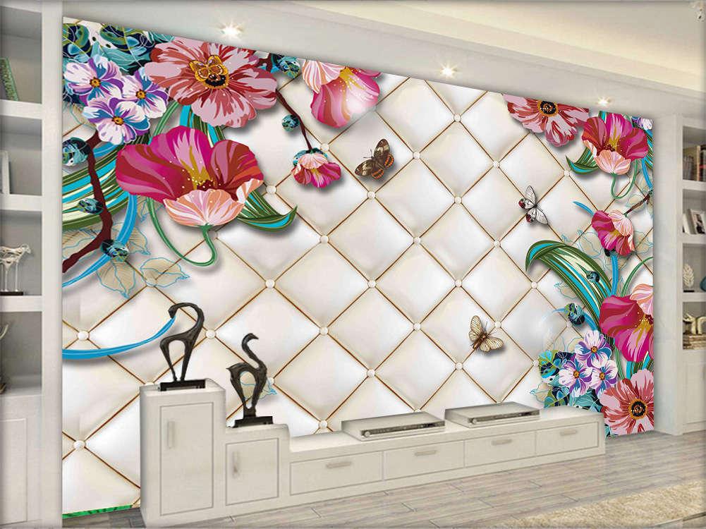 Precious Focal Pear 3D Full Wall Mural Photo Wallpaper Printing Home Kids Decor
