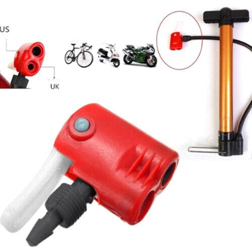 Fahrrad Fahrrad Reifen Schlauch Ersatz Doppelkopf Luftpumpe Adapterventil P xe