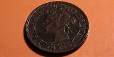 1900 Canada Large Cent Coin – HIGHER GRADE! – Victoria Era Cdn Penny – 1¢