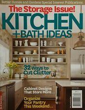 Better Homes & Gardens Kitchen & Bath Ideas Storage Iss. Win 2013 FREE SHIPPING