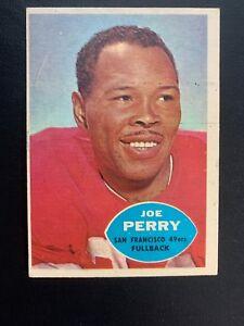 1960-Topps-Football-Card-114-Joe-Perry-San-Francisco-49ers-Vg-VgEx-Vintage
