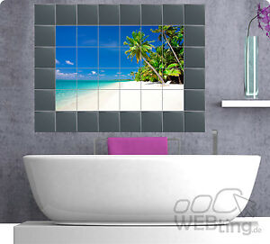 Fliesenaufkleber Fliesenbild Fliesen Aufkleber Sticker Küche Wand - Küchenwand alternative zu fliesen
