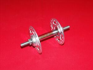 Vintage Campagnolo Super// Record High Flange QR Bicycle Hubs 28-36H