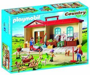 Playmobil-4897-Granja-Maletin-Country-Nuevo-en-caja