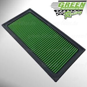 Green-Sportluftfilter-fuer-verschiedene-Audi-Skoda-SEAT-und-Volkswagen-Modelle