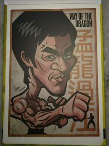 Bruce-Lee-75th-Birthday-Pictorial-Full-Color-Post-Card-7-Way-of-Dragon