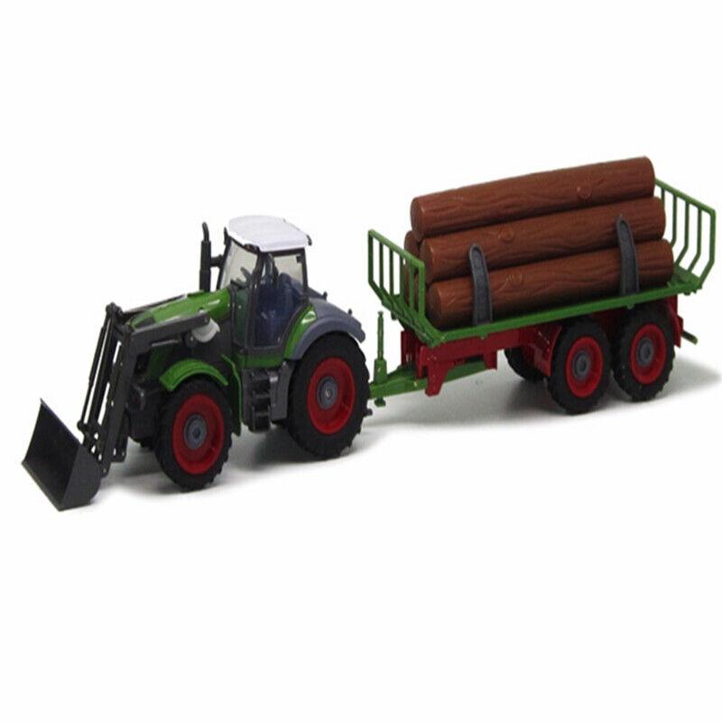 marca Control remoto RC coche Granja Tractor Cochegador máquina agricultor Desmontable Desmontable Desmontable Volquete Coche  envío rápido en todo el mundo