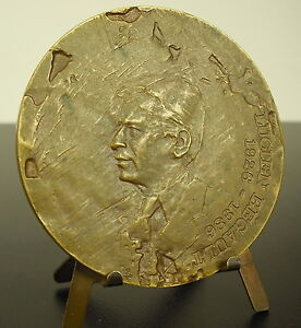 Medal-Lucien-Begault-Scholarship-Award-1926-1986-70mm-Belgium-Belgium-Medal