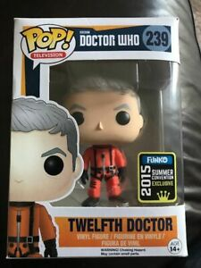 TWELFTH-DOCTOR-WHO-SDCC-LE1008-FUNKO-POP-Vinyl-New-in-Mint-Box-Protector