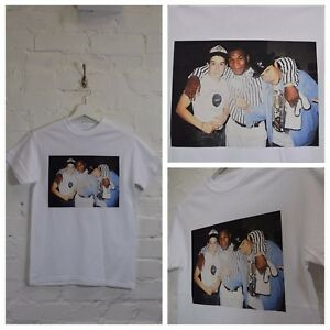 c0bc3c198 Actual Fact Mike Tyson Beastie Boys Vintage Hip Hop Boxing White Tee ...