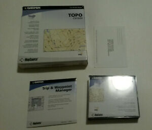 Map Source Topo Canada Garmin MapSource V2 Topo Canada 2004 CD Rom Maps | eBay
