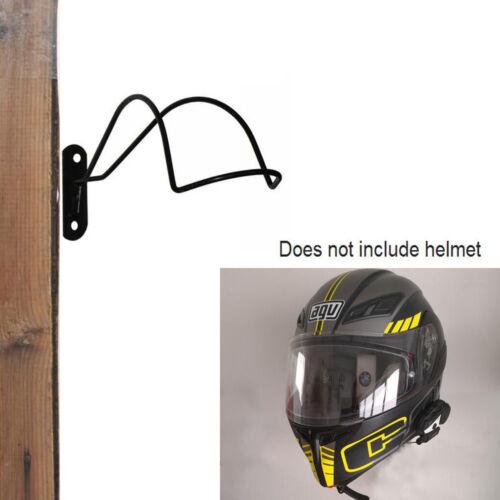 Iron - Wall Mounted Motorcycle / Equestrian Helmet Rack Organizer Hanger Display