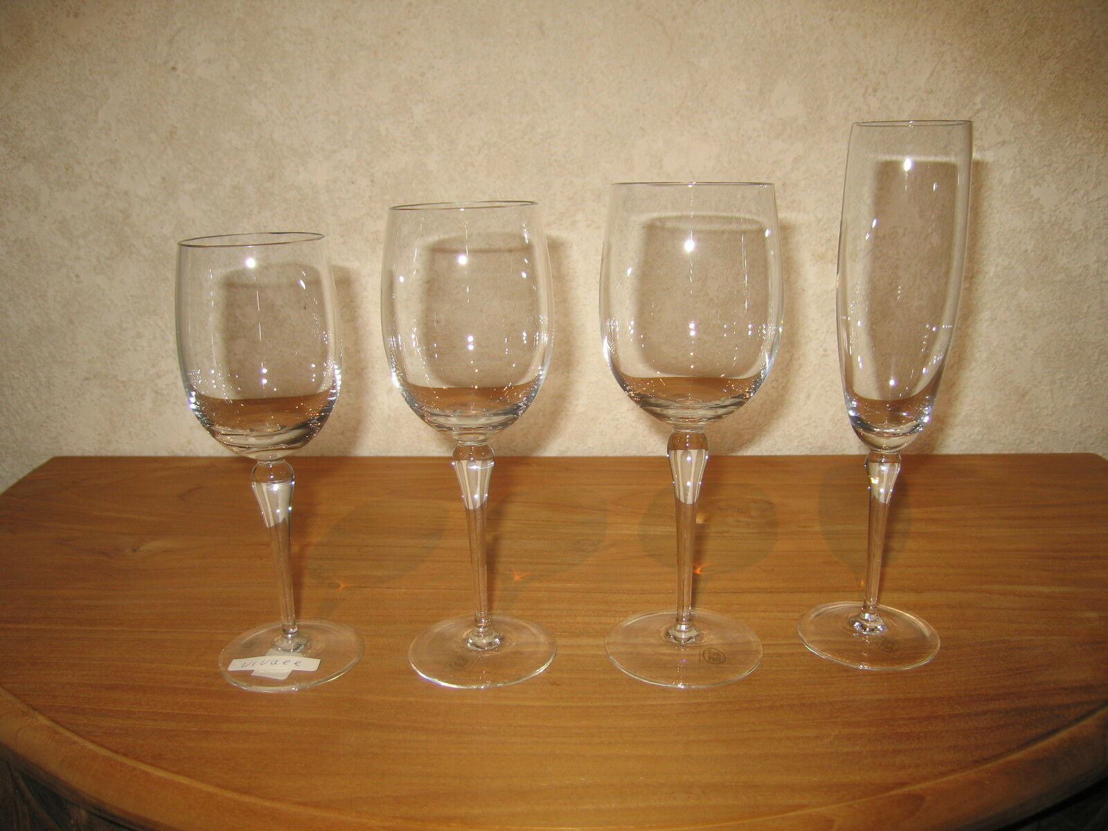 BOUSSU NEW VIVACE Set 8 Verres Glasses