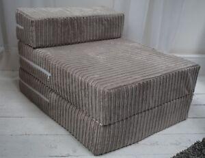 Memory Foam Jumbo Chord Single Chair