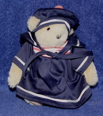 MUFFY CRUISEWEAR IN NAVY SAILOR DRESS 1986-1991