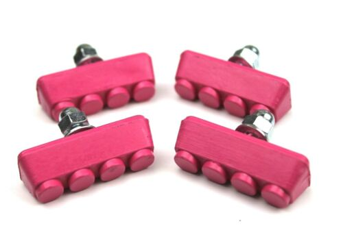 ProBMX Brake Pads Hot Pink Old School Skyways Tuffs Style