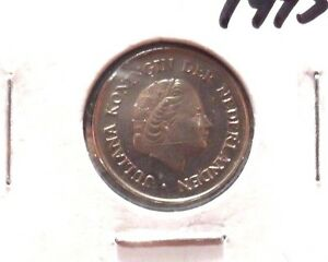 CIRCULATED-1975-25-CENT-NETHERLANDS-COIN-71215