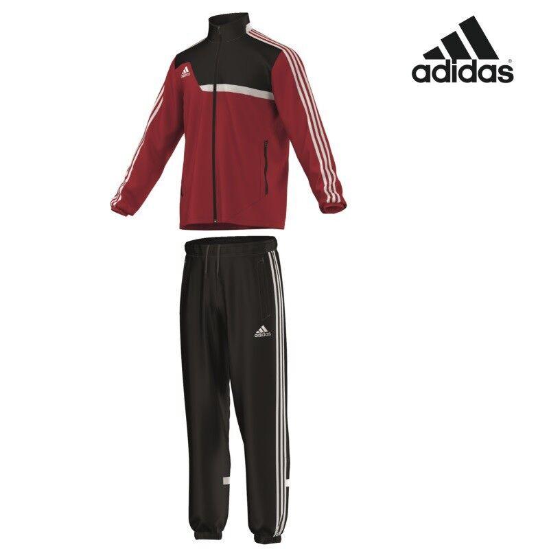 Adidas tiro 13 presentación  traje chándal rojo negro [w53965]  compra limitada