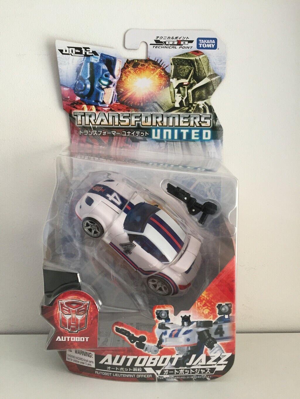 Takara Transformers United UN-12 Autobot Jazz