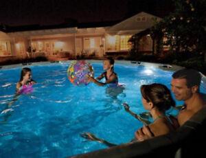 Swimming pool lights underwater fixture led moveable 3 - Swimming pool lights underwater for sale ...