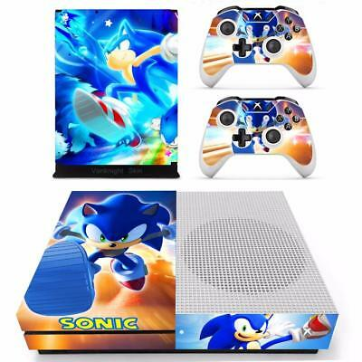 Sonic The Hedgehog Vinyl Skin Decals Stickers For Xbox One S Console Controllers Ebay
