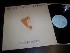 "Radio Free Europe ""Laughoncue"" LP HEDONICS UK 1980"
