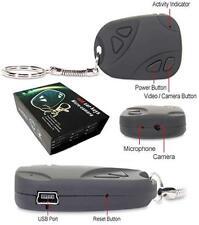 MINI SPY CAMERA VIDEO/AUDIO RECORDER DVR in CAR KEY FOB REMOTE 720p*480p 30fps