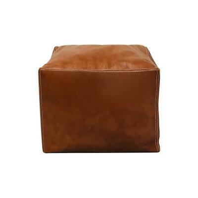 Remarkable Authentic Moroccan Square Pouf Leather Pouf Ottoman Pouffe Lamtechconsult Wood Chair Design Ideas Lamtechconsultcom
