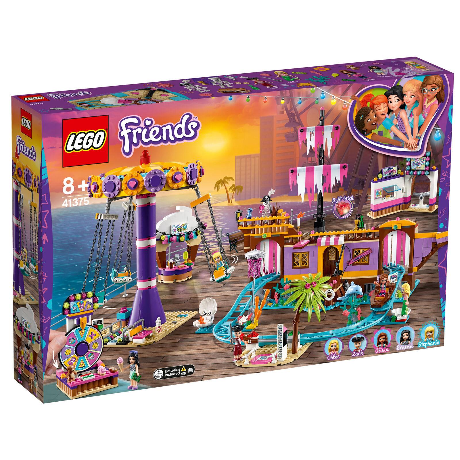 41375 Lego Friends Heartlake città diverdeimenti Pier divertimento  Fair montagne russe 1251pcs  vendita scontata online di factory outlet