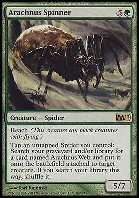 1x Arachnus Spinner M12 MtG Magic Green Rare 1 x1 Card Cards