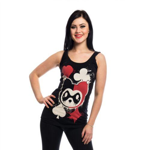 Killer Panda Kp Carte Gilet Femme Noir Goth Emo Punk