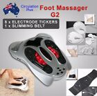 New Electromagnetic Wave Pulse Foot Massager Circulation Booster Massage