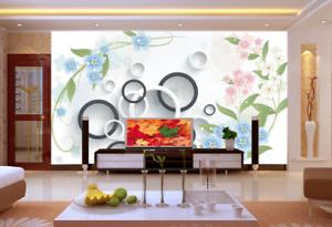 3D Sweet Petal Style 8 Wall Paper Murals Wall Print Wall Wallpaper Mural AU Kyra