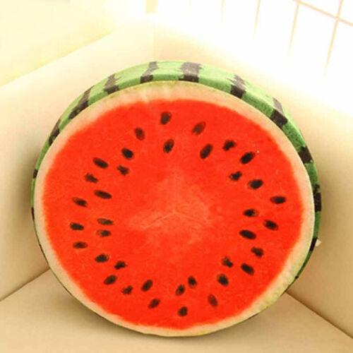 Frucht  Sitzkissen Obst Kissen Stuhlkissen rund Stuhl Kissen Stuhlauflage 2018