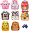 3D cartoon image picture waterproof kids kindergarten backpack kids school bag