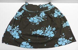 24ceab81468 Jupe marron bleu ROXY pour FILLE femme taille 16 ans NEUF brown blue ...