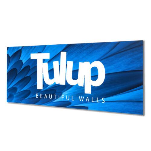 Wandbild aus Plexiglas® Druck auf Acryl 100x70 Landschaften Fluss im Wald