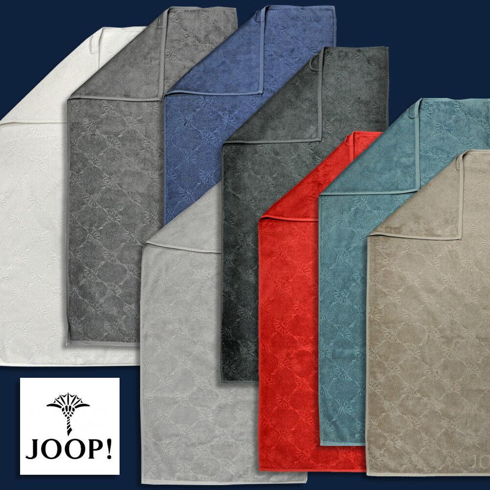 JOOP  Handtuch Duschtuch und Saunatuch Uni Cornflower 1670   8 Farben 1 Preis