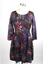 Catherine Malandrino floral lace dress sz 8