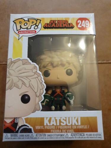 Funko Pop My Hero Academia KATSUKI BAKUGO  249 Pop Vinyl
